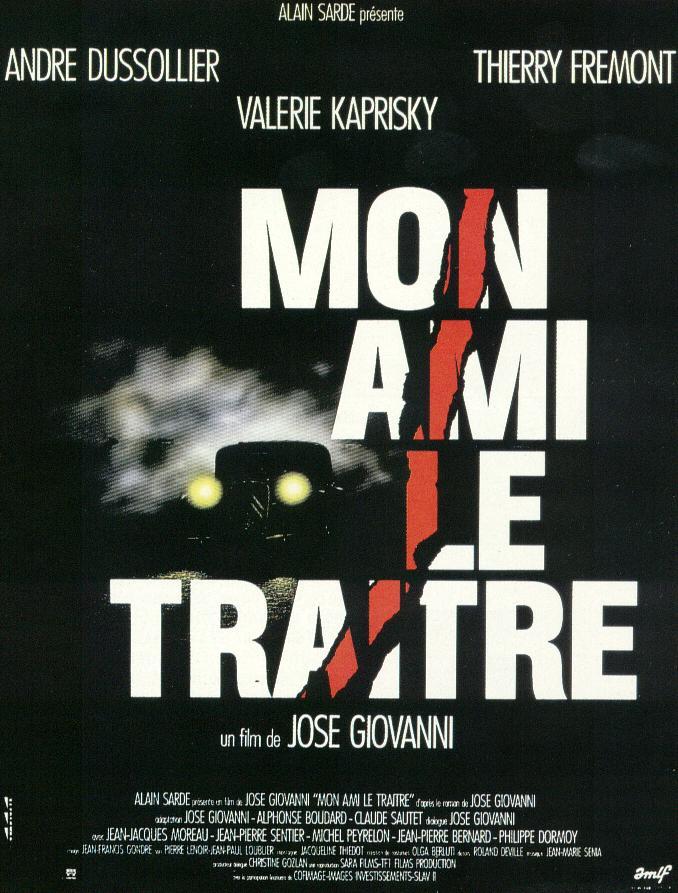 1987.MON AMI LE TRAITRE.José Giovanni (1)