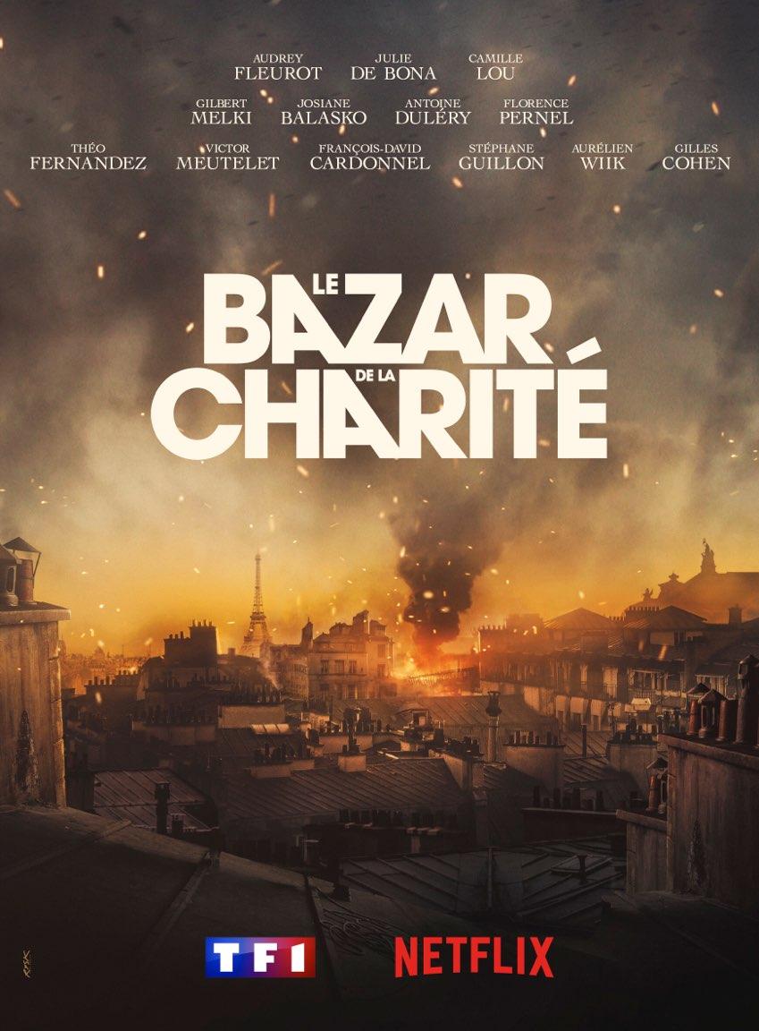 00.AFICHE.2019. BAZAR DE LA CHARITE. Alexandre LAURENT. FANTASTICO QUAD TELEVISION